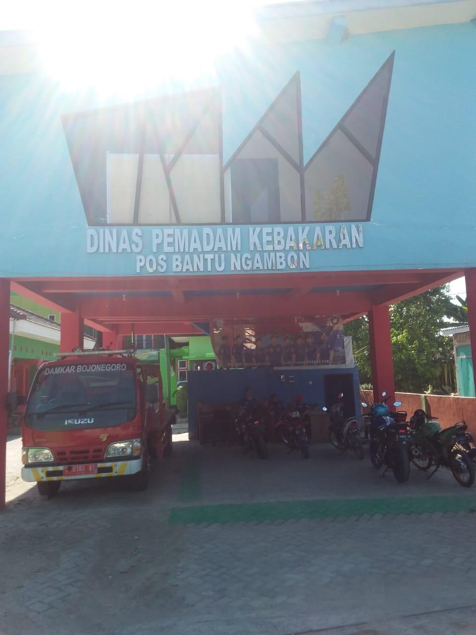 DINAS PEMADAM KEBAKARAN ( POS NGAMBON )<BR>TELP 08113487039